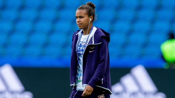 Nikita Parris last month signed with European powerhouse Olympique Lyonnais after finishing second in the WSL goal rankings for Manchester City.