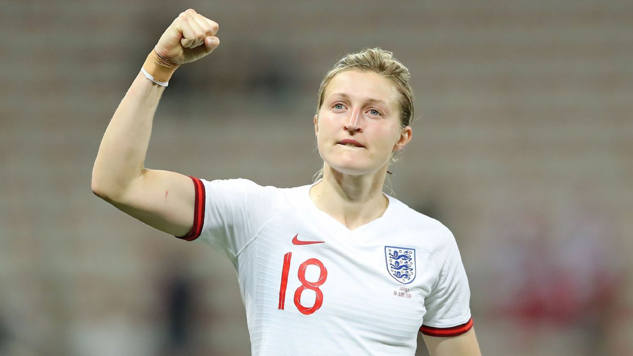 Ellen White scored both of England's goals, the first in the 14th minute and the clincher in the 84th.