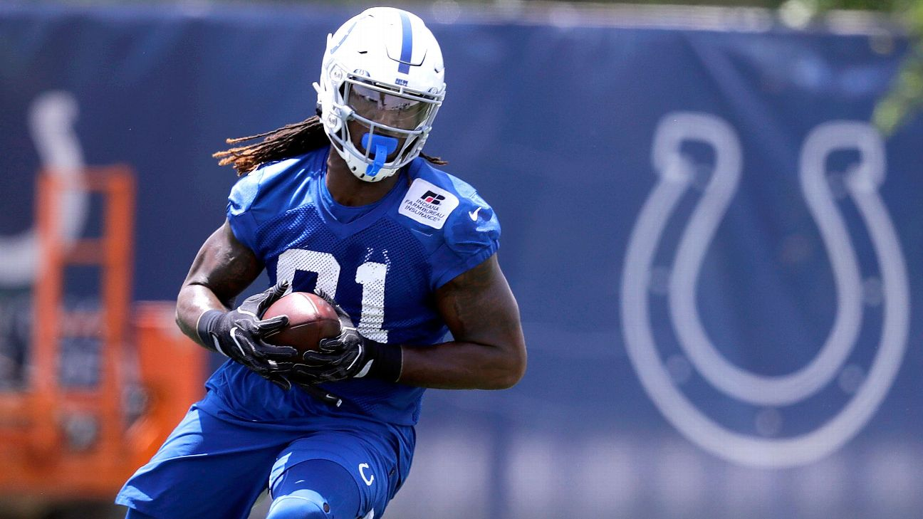 Colts' Mo Alie-Cox runs a unique post route toward 'special role