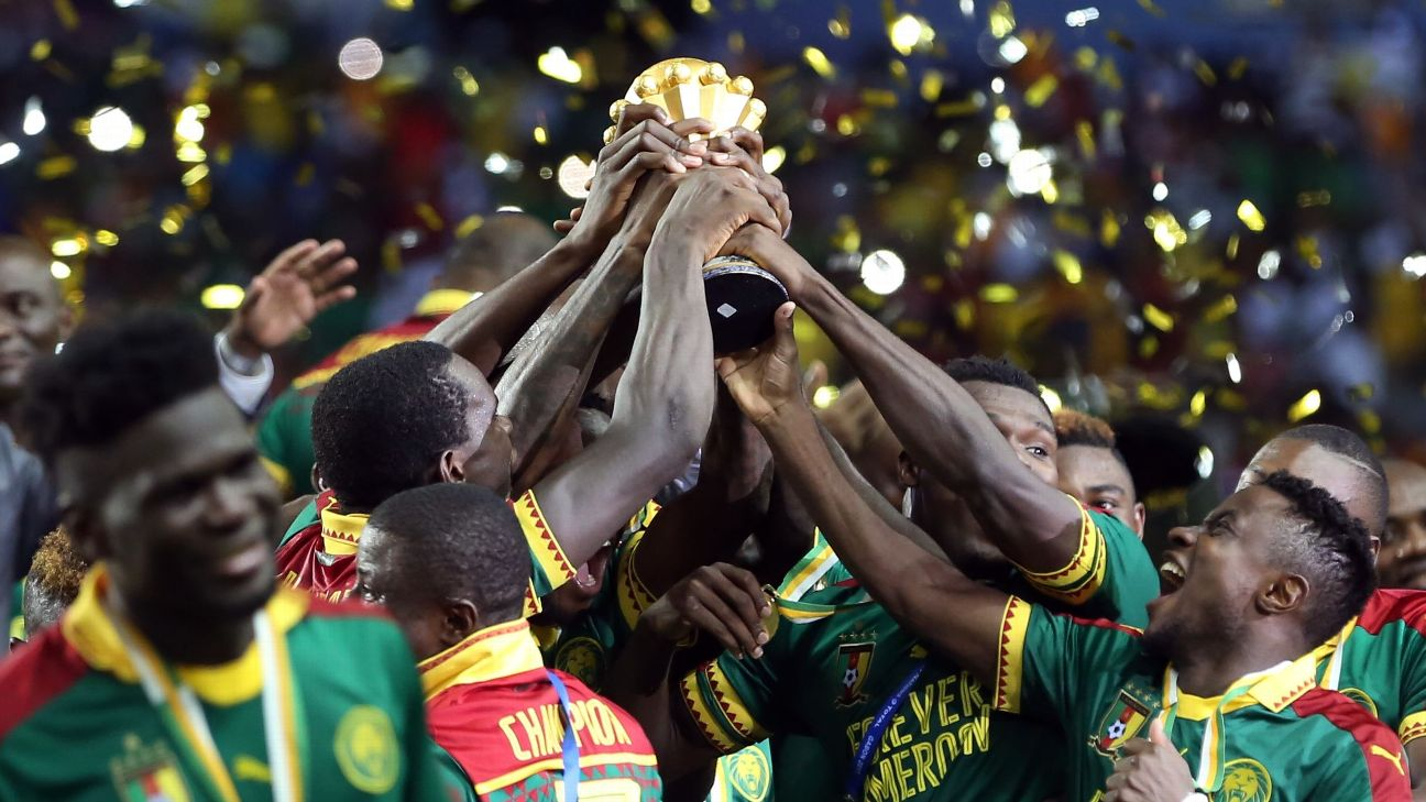 Cameroon are the defending Afcon champions, having won the title in Gabon in 2017, but are threatening to stay away if their bonuses remain unpaid.