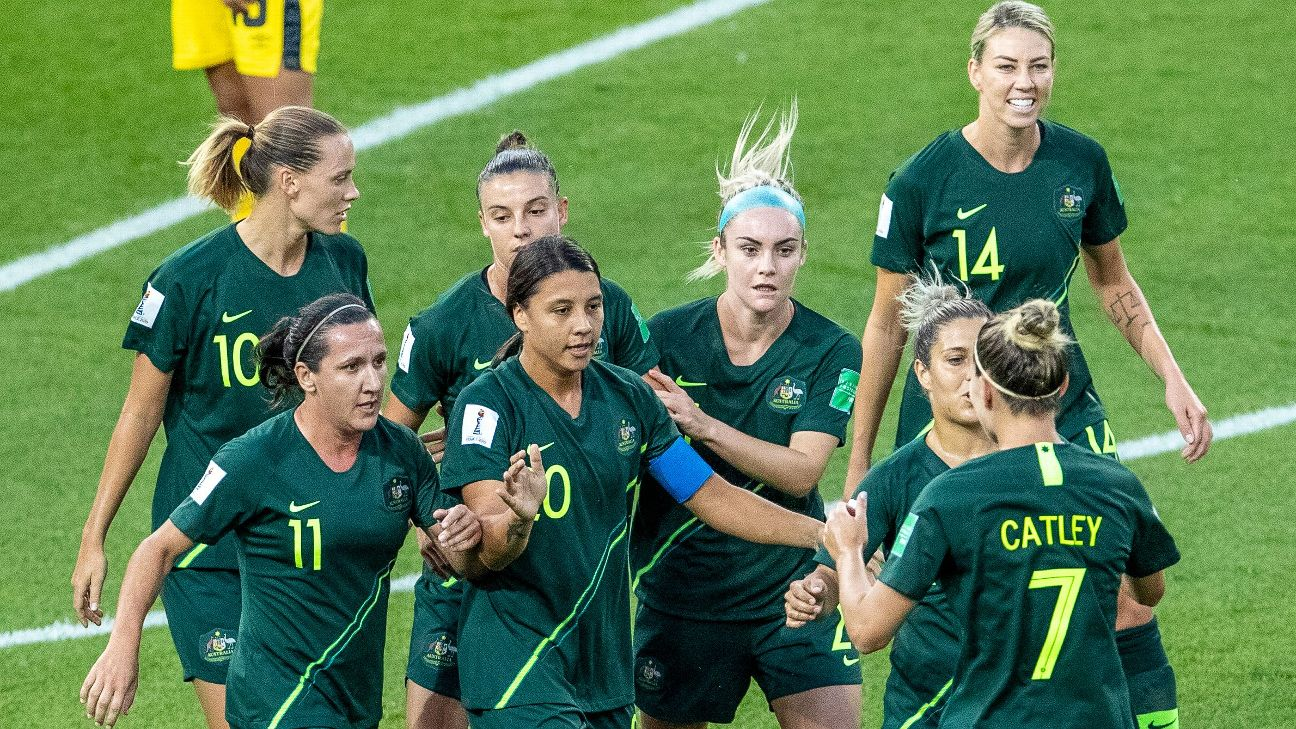 Sam Kerr and Australia have had no issues scoring, but their defense remains a question in the Women's World Cup.
