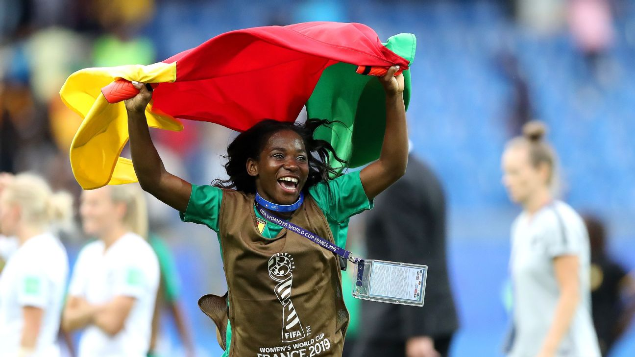 Madeleine Ngono Mani is Cameroon's top female goalscorer, but has not been on the scoreboard this tournament. Yet.
