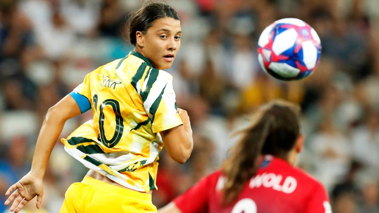 Aussie star Sam Kerr was held in check against Norway and missed her penalty kick in the shootout.