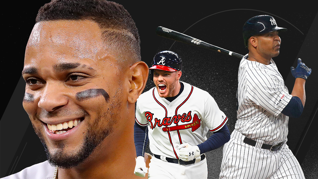 5a1660859 Power Rankings -- Yankees, Braves rise to challenge Dodgers for No. 1