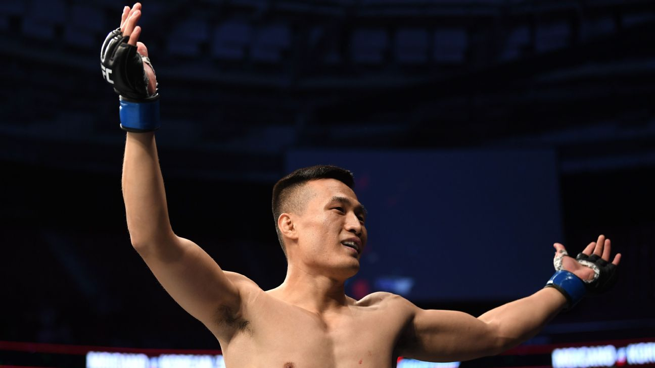 Five Rounds -- Chan Sung Jung keeps rising to occasion and