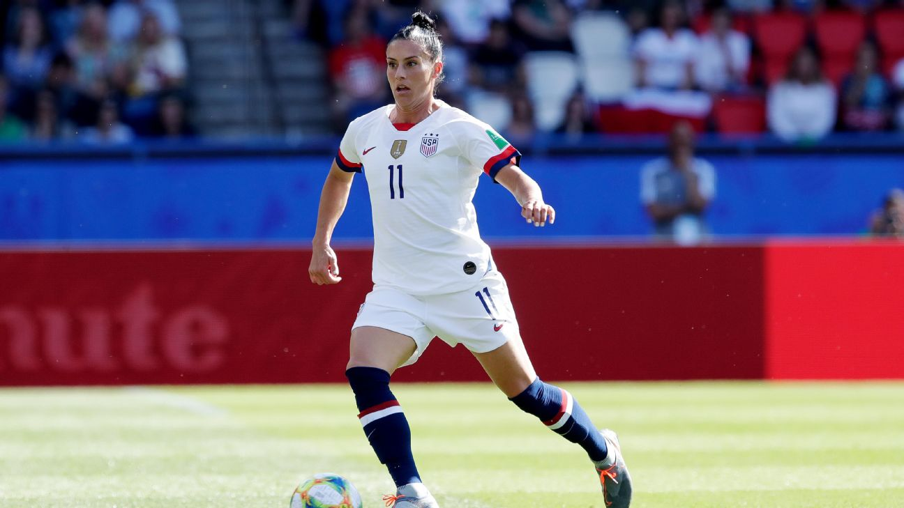 Ali Krieger and the U.S. are not taking Spain lightly ahead of their clash Monday at the Women's World Cup.