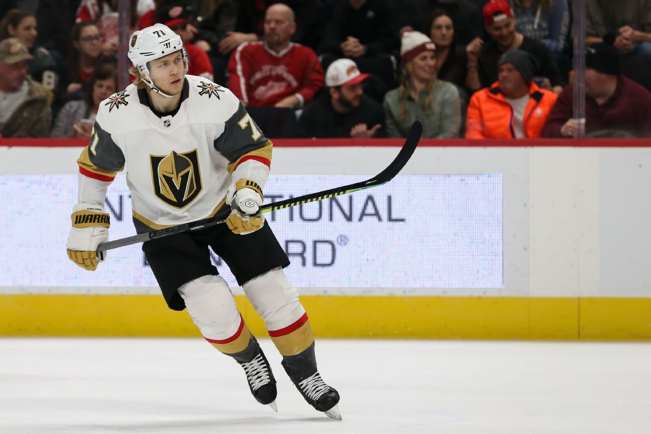 Vegas Golden Knights hockey - Golden Knights News, Scores