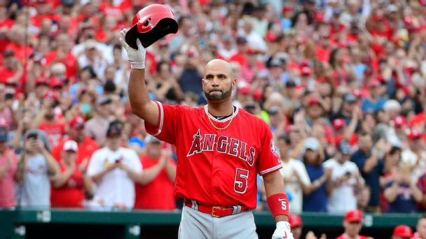 Albert Pujols' return to St. Louis: It was as if he never left