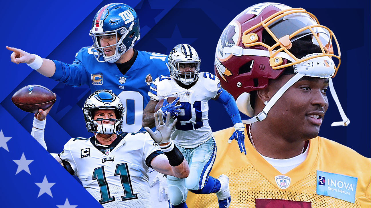 Answering biggest NFC East questions: Wentz healthy? Haskins to start?