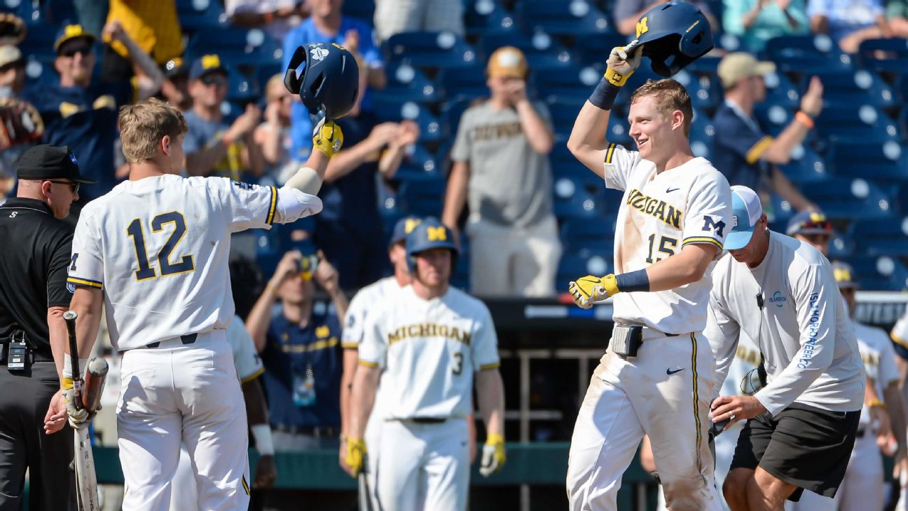 d9727d21 How Michigan became the biggest surprise of the College World Series