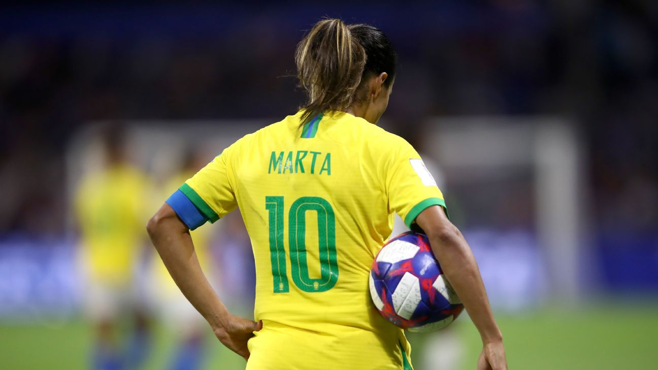 Brazil great Marta became the all-time leading scorer at any World Cup at the 2019 edition in France.