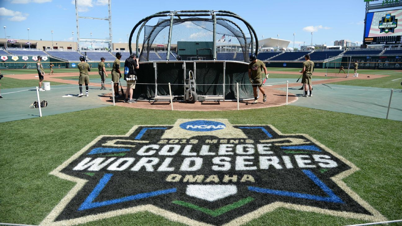 2019 NCAA baseball tournament schedule and results