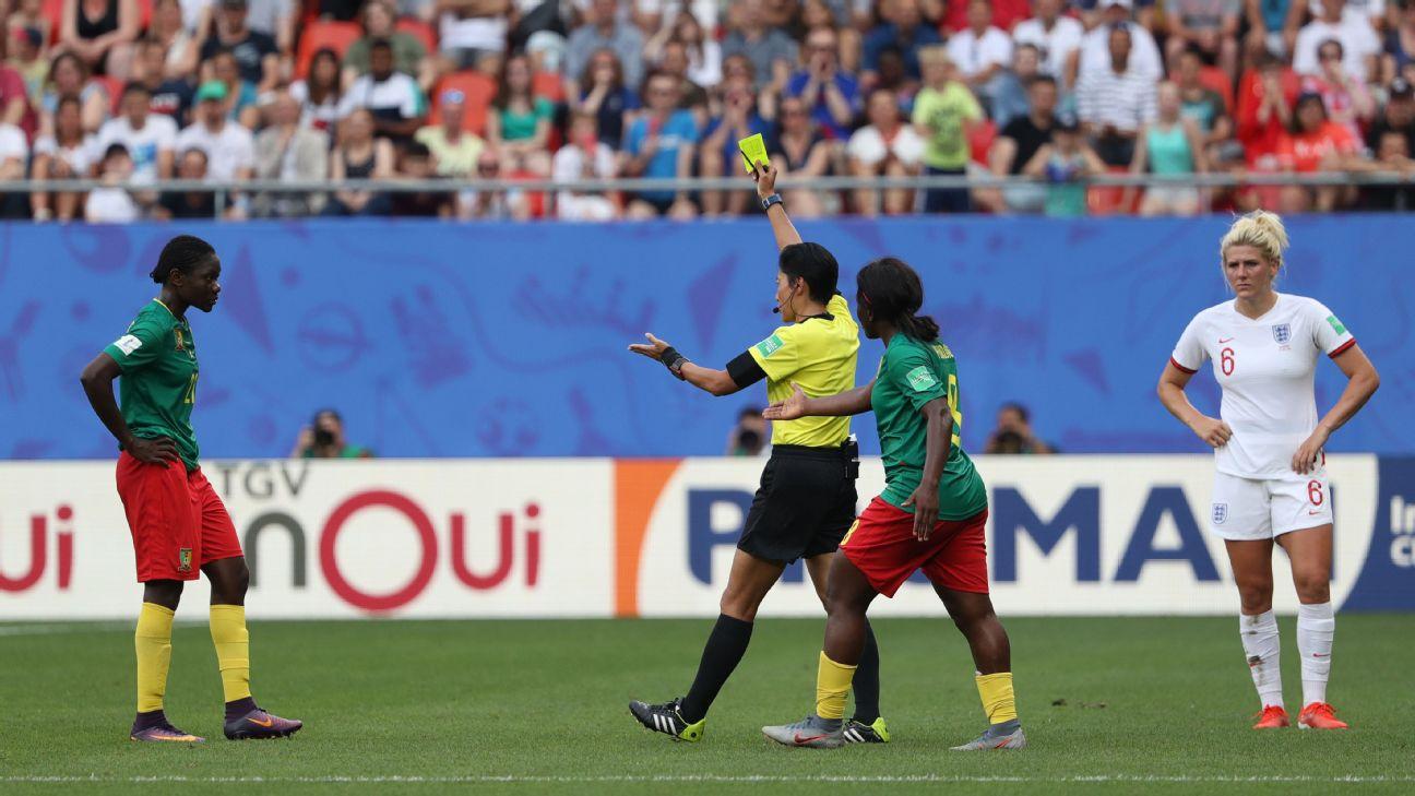 England vs. Cameroon