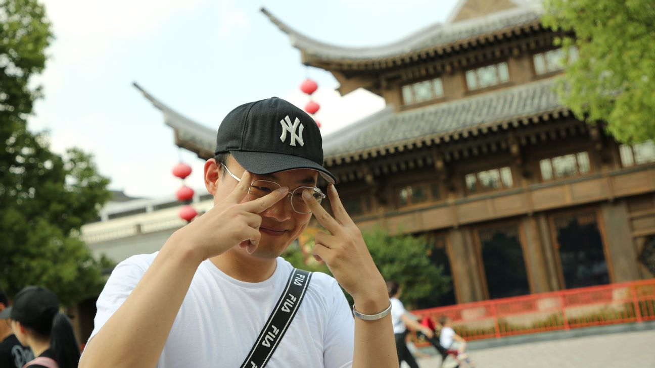 d00a7730c Sam Borden - Why the Yankees hat has become a global fashion sensation