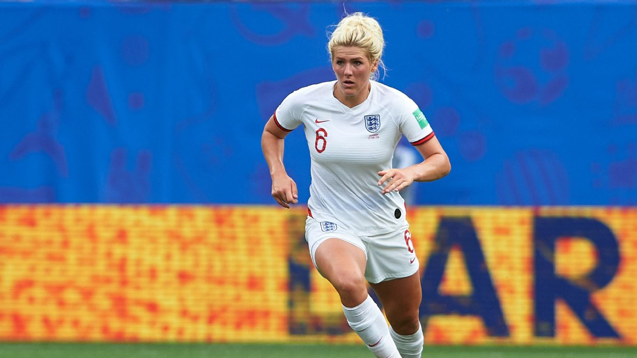 Centre-back Millie Bright has started in three of England's four World Cup games so far.