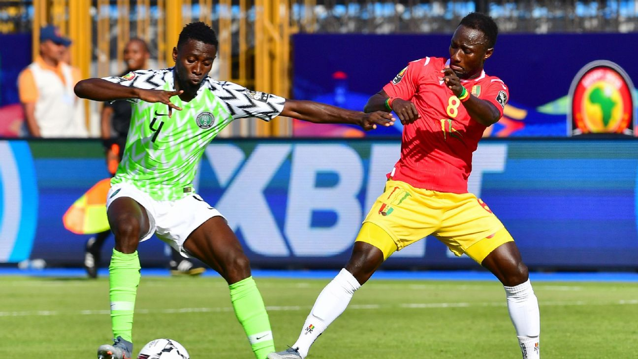Nigeria ride depth, central midfield partnership past Guinea and into AFCON round of 16 2