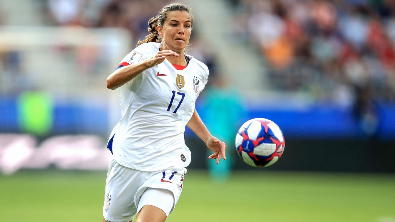 Tobin Heath is one of a handful of American players who've spent time playing professionally in France.