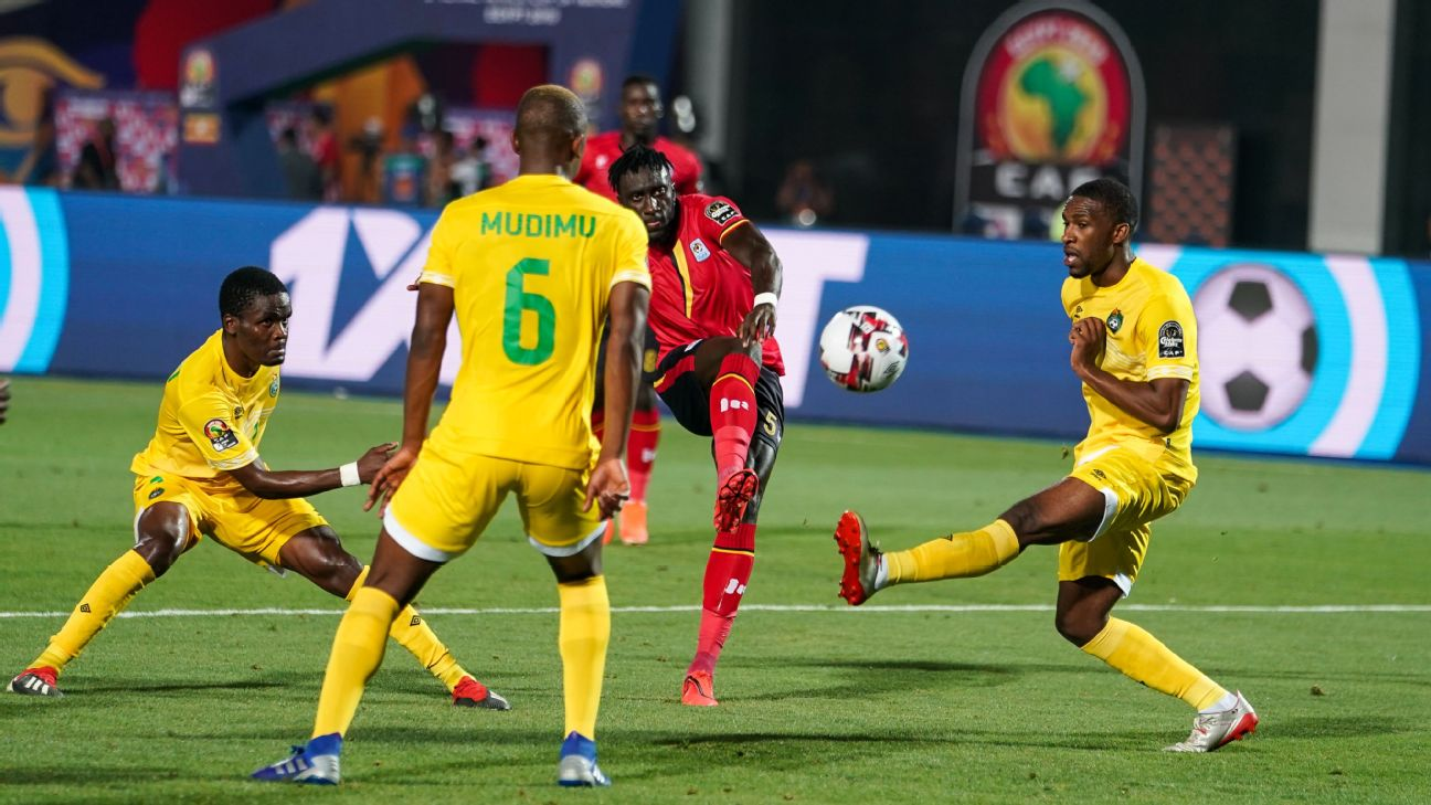 Uganda vs. Zimbabwe - Football Match Report - June 26, 2019 1