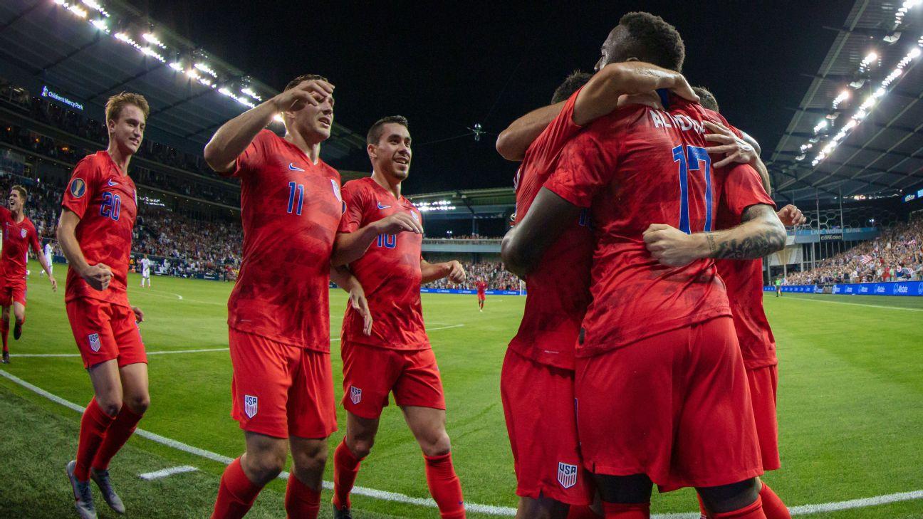Estados Unidos, favorito para ganar la Copa Oro 2019