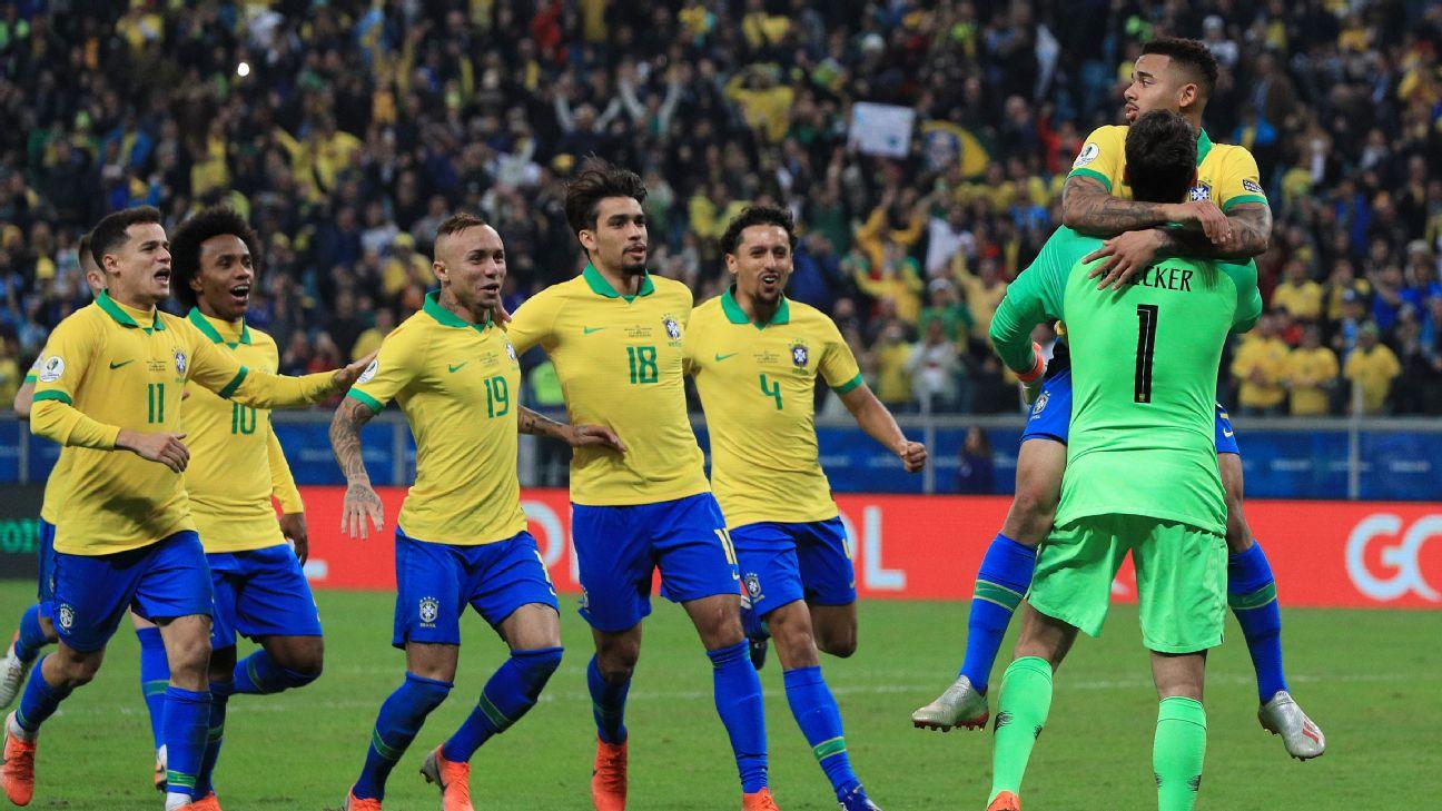 Brazil celebrates