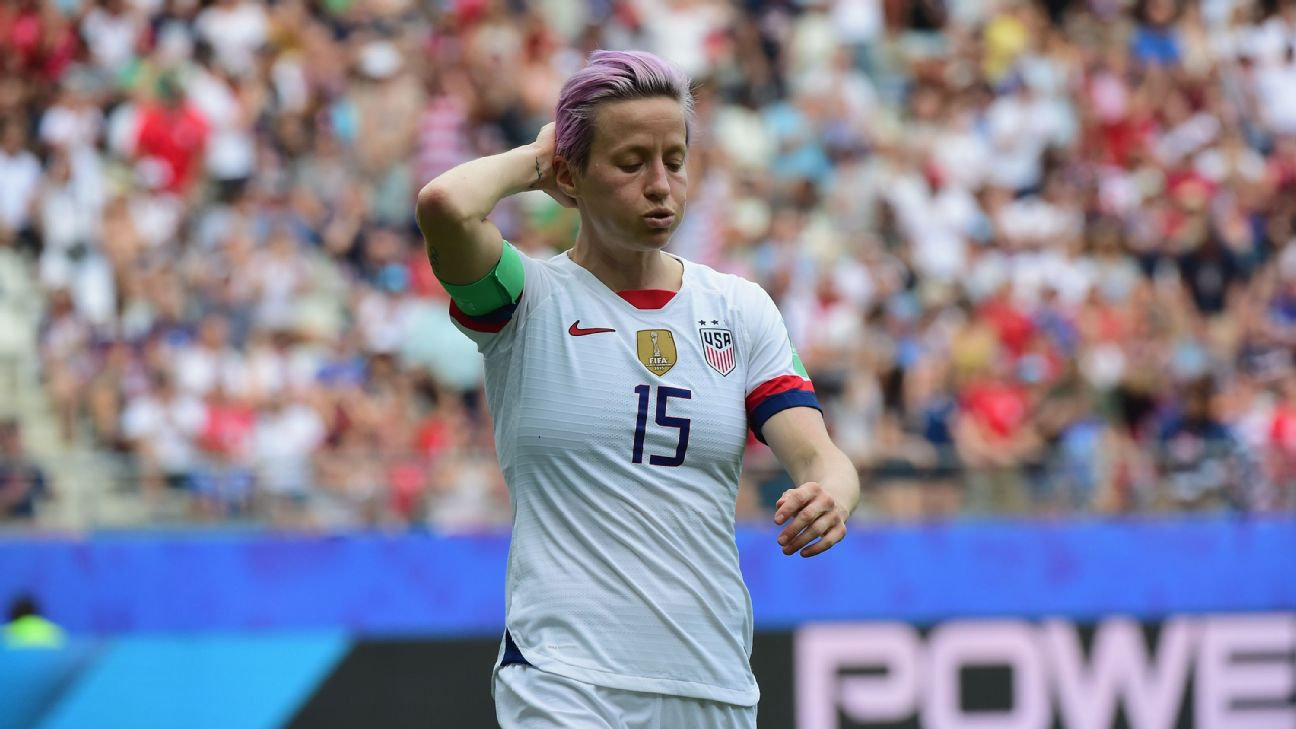 The Women's World Cup run ended early for Megan Rapinoe and the United States.