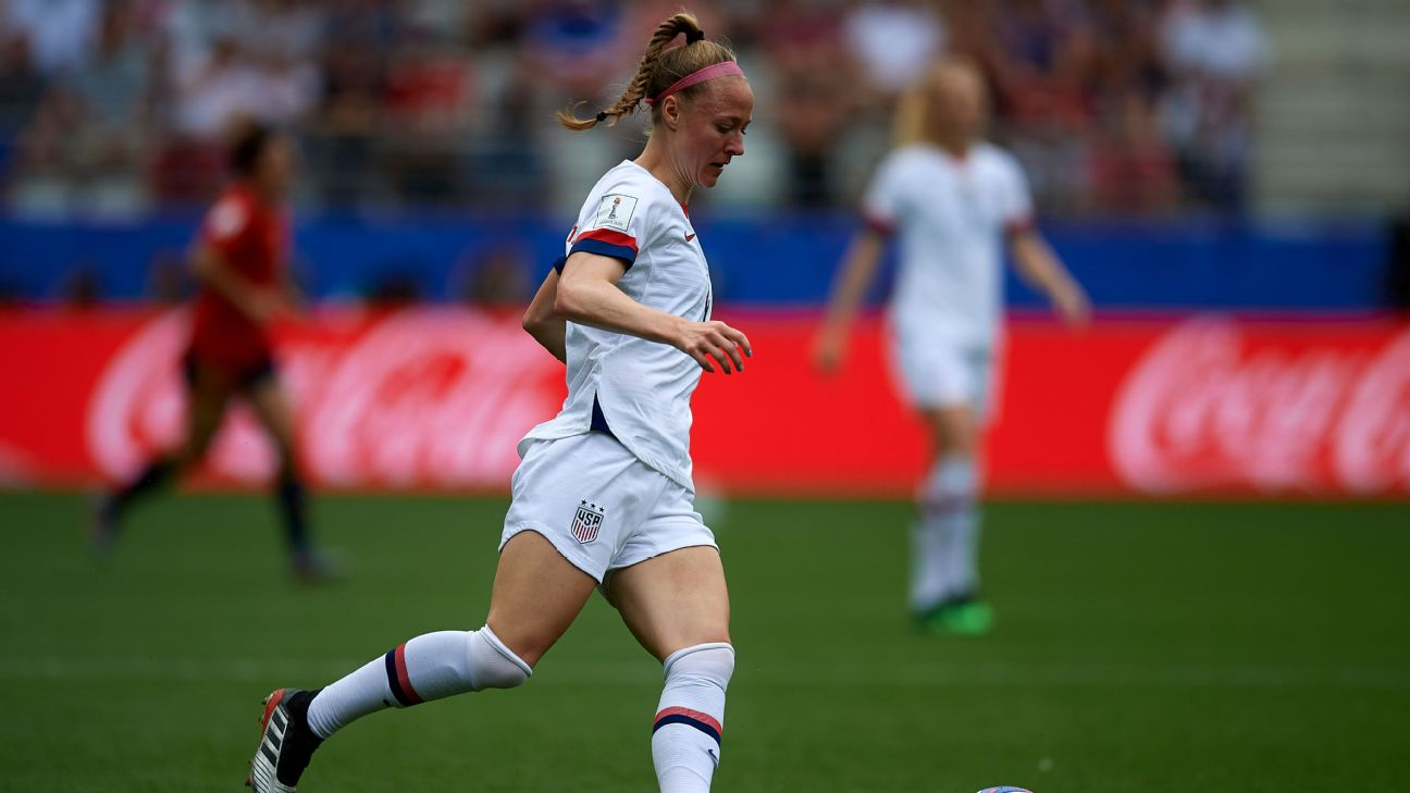 Becky Sauerbrunn is the leader of a U.S. defense that has stepped up at the 2019 Women's World Cup.