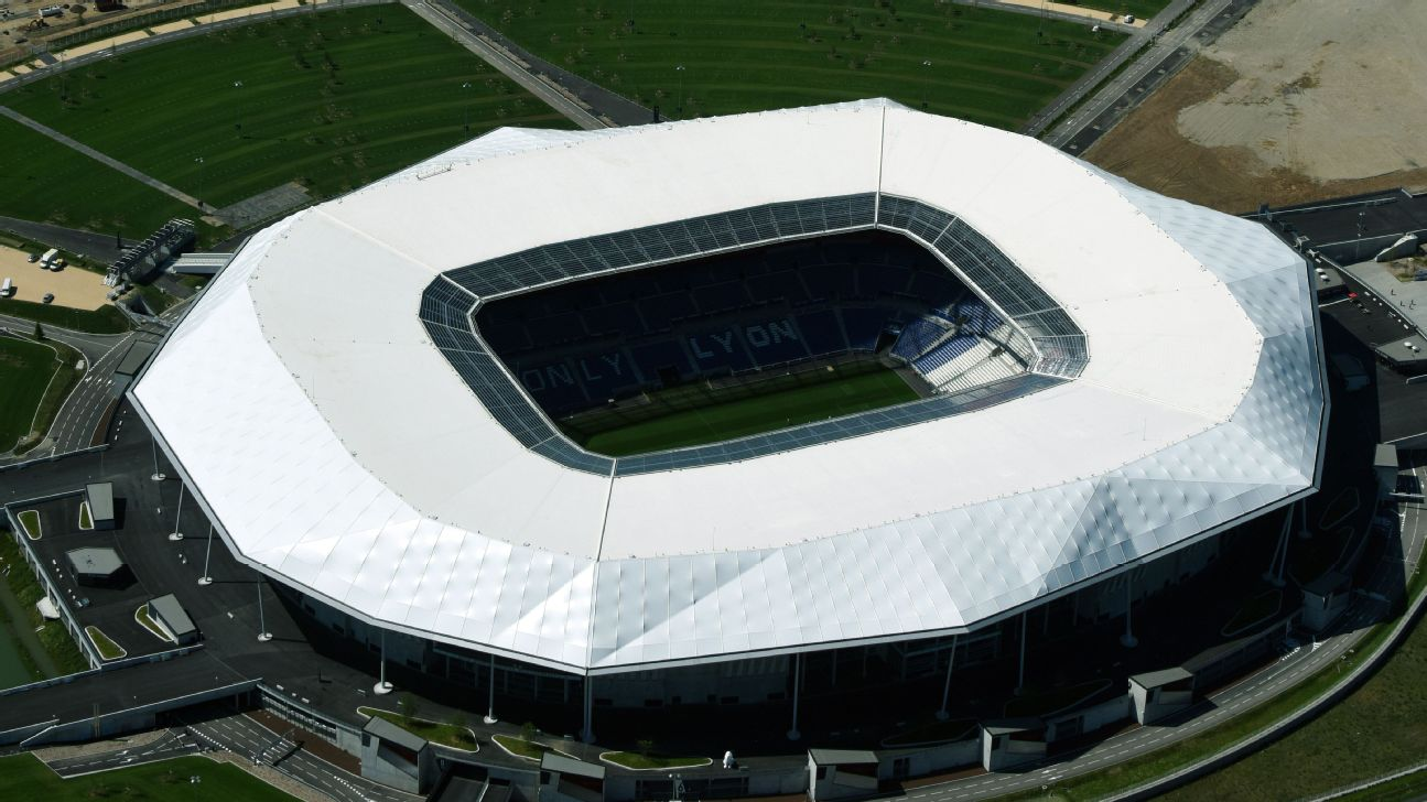 Stade de Lyon is the home of the 2019 FIFA Women's World Cup semifinals and final.
