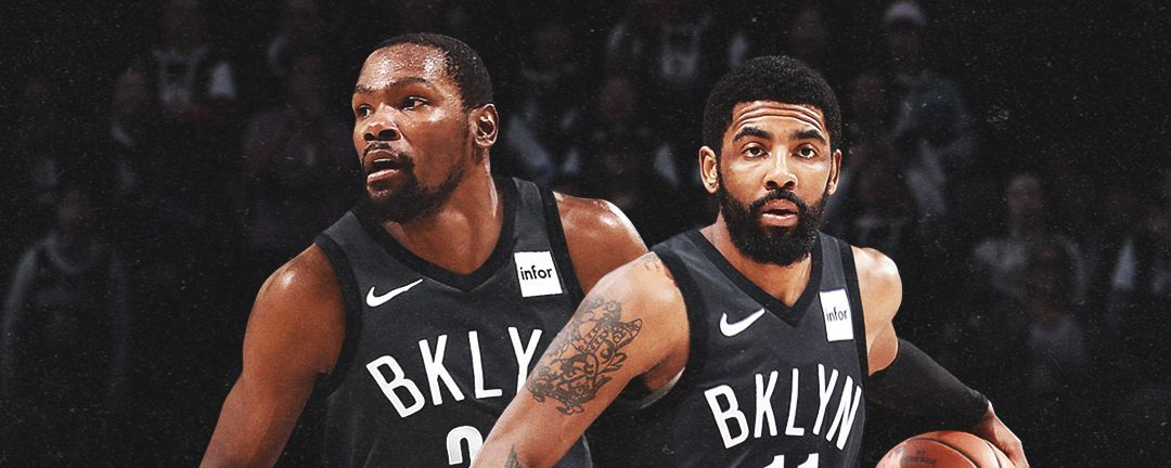 newest 9657c 5e0e1 Brooklyn-bound -- KD, Kyrie announce Nets moves