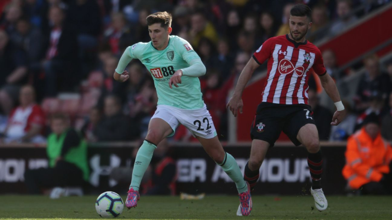 Bournemouth have loaned midfielder Emerson Hyndman to Atlanta United for the rest of the 2019 MLS season.