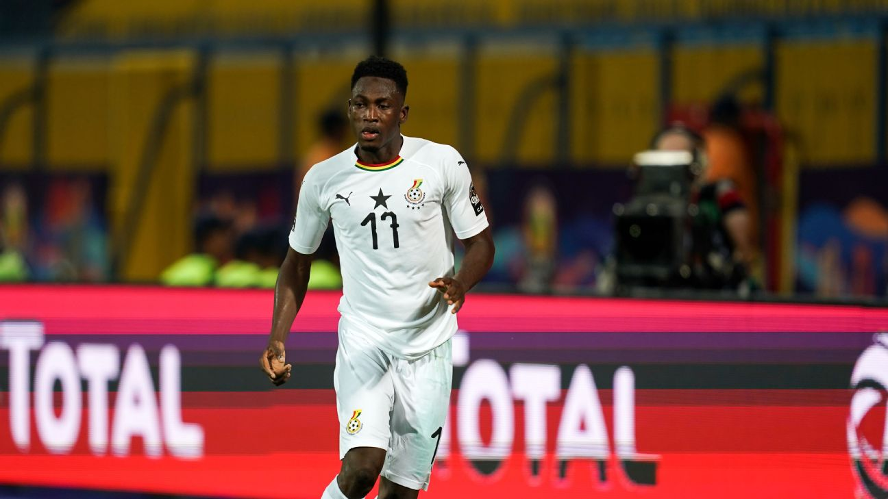 Baba Rahman was a surprise pick for Ghana's Afcon squad, given he'd not played for the Black Stars since the 2017 edition of the same tournament, but his league form stated his case.