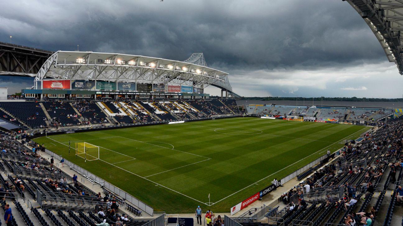 Inclement weather postpones Philly-Orlando match 1