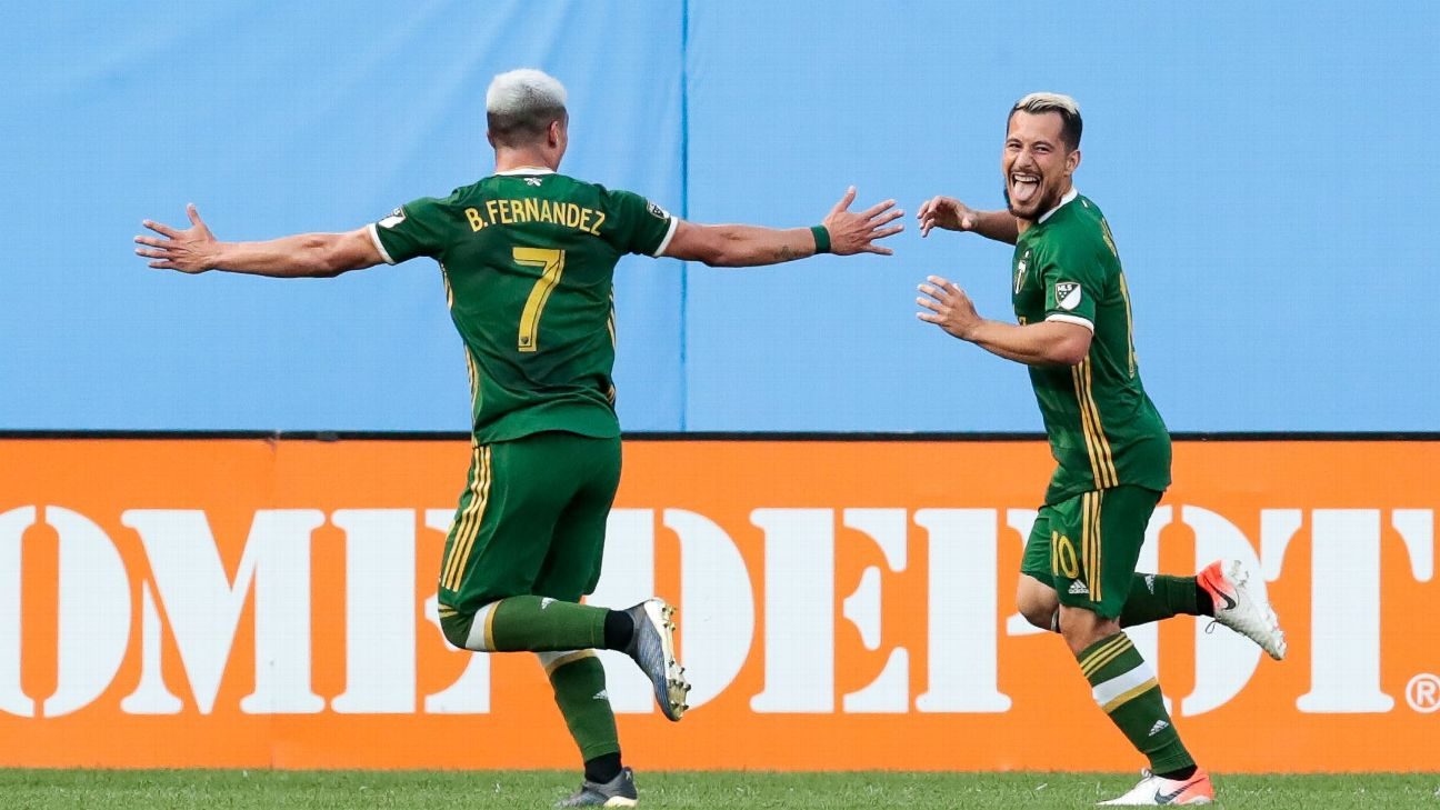 New York City FC vs. Portland Timbers - Football Match Report - July 7, 2019 1