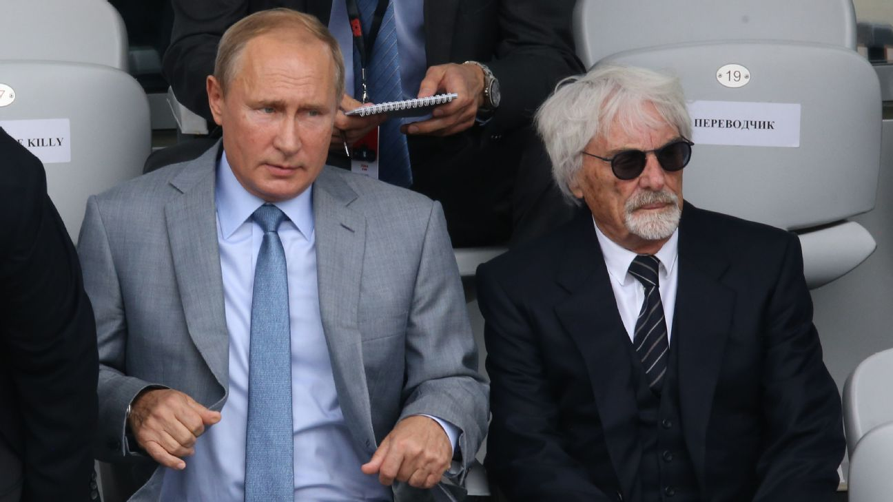 Ecclestone I Would Take A Bullet For Vladimir Putin