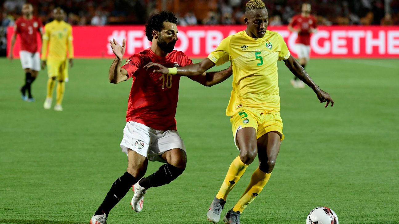 Zimbabwe defender Divine Lunga was unfazed playing against Mohamed Salah, and he could could yet swell the Warriors' ranks of European-based talent.