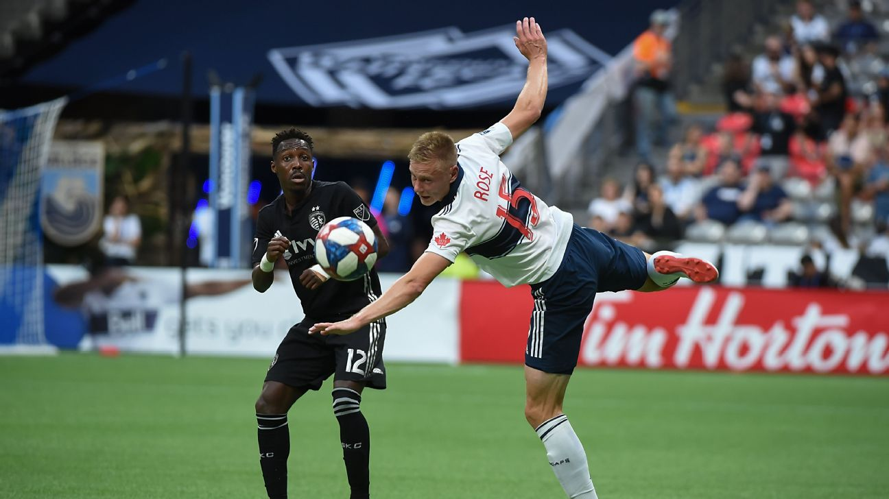 Vancouver Whitecaps vs. Sporting Kansas City - Football Match Report - July 14, 2019 1