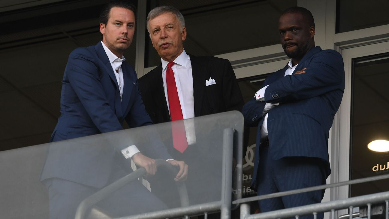 Stan Kroenke first invested in Arsenal in 2007 and went on to become majority shareholder in 2011.