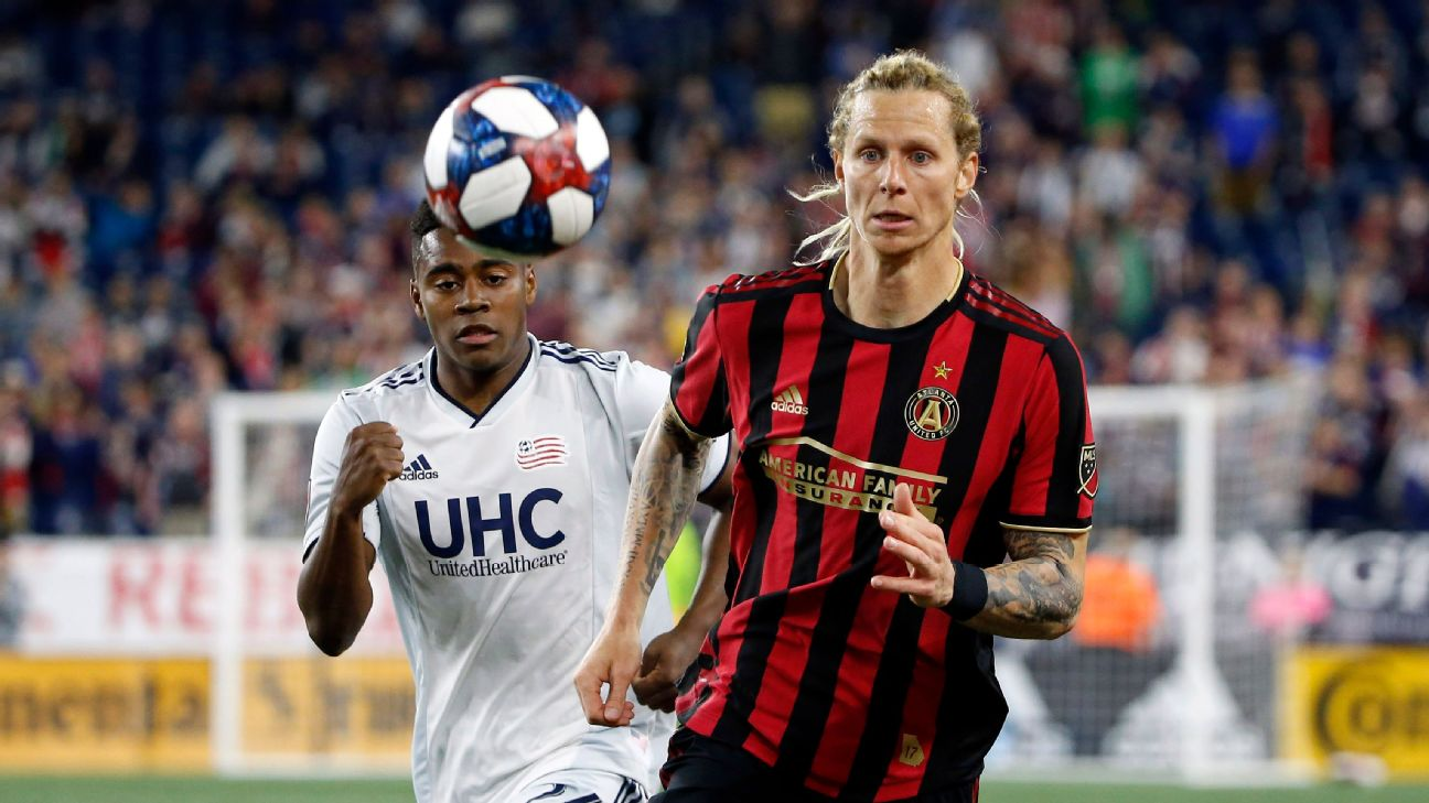 Brek Shea will miss the rest of the season for Atlanta United after suffering a serious knee injury against Seattle.