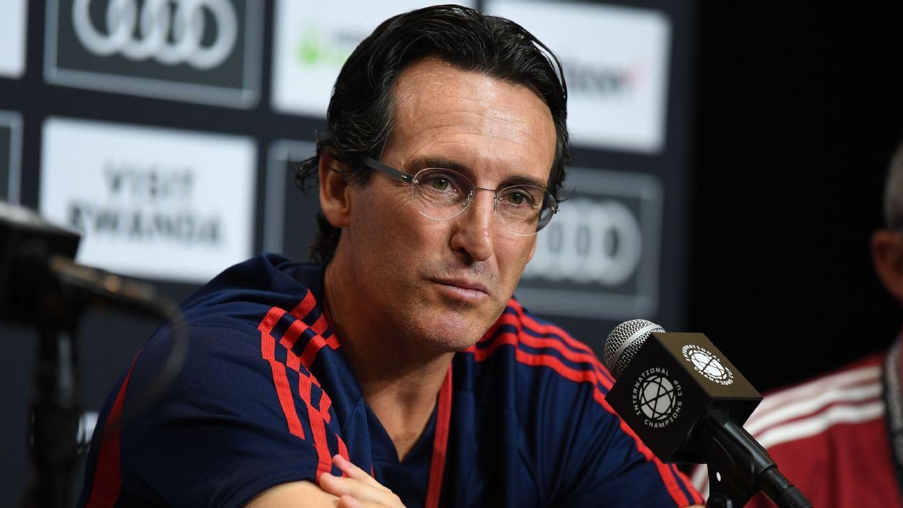 Arsenal boss Unai Emery led the club to fourth place last season, missing out on a Champions League qualification place to North London rivals Spurs by one point.
