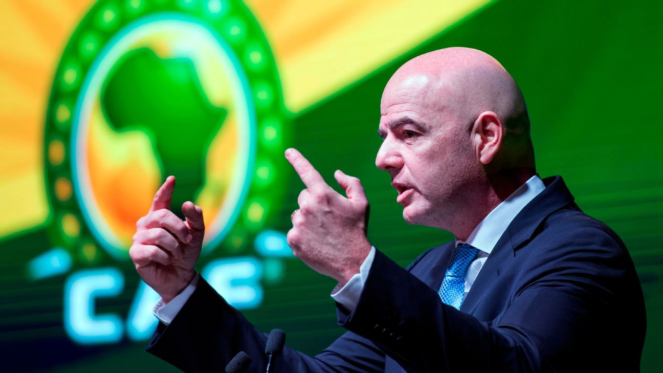 FIFA president Gianni Infantino has denied that the move to jointly administer African football alongside CAF has been widely unwanted.
