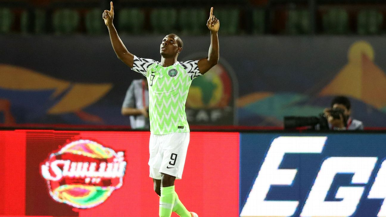 Odion Ighalo scored the winning goal for Nigeria in the 2019 Africa Cup of Nations Bronze Final, which was his final game for the Super Eagles.