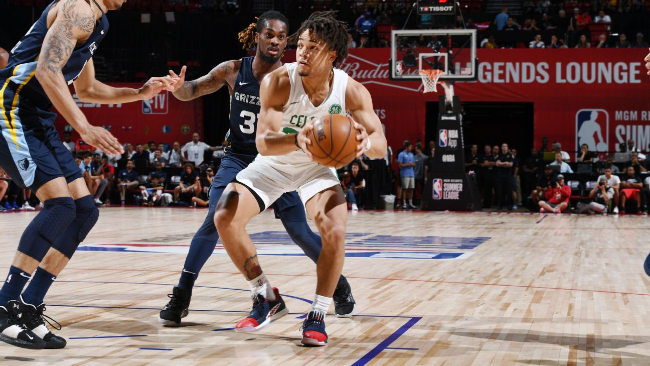 After Strong Summer League Play Celtics Edwards Signs With Adidas