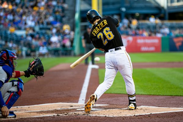 Padres get Frazier from Pirates for three players