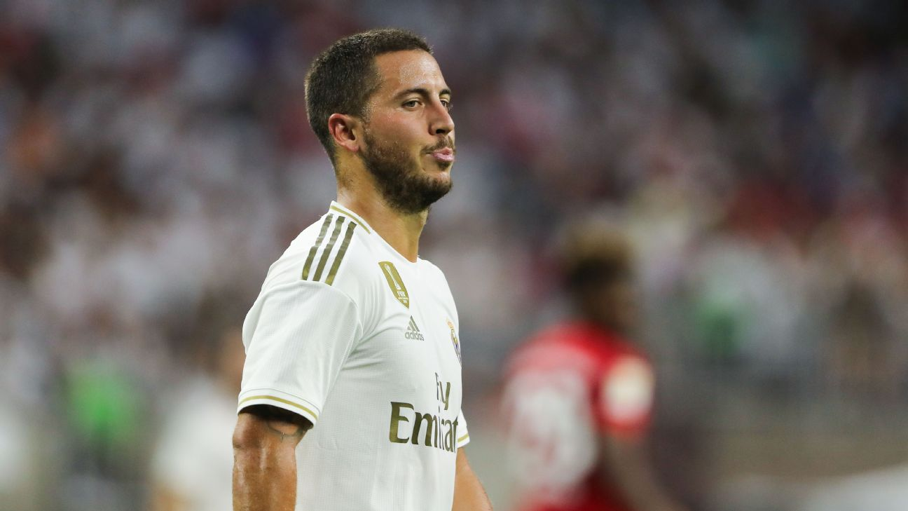 Eden Hazard made his Real Madrid debut in a 3-1 International Champions Cup loss to Bayern Munich on Saturday.