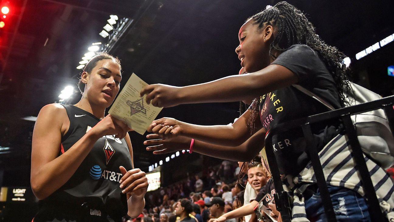 WNBA - Women's National Basketball Association Teams, Scores