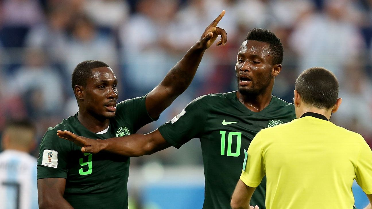 Odion Ighalo and John Obi Mikel have exited stage left, but Nigeria's domestic structures don't appear to have found replacements.