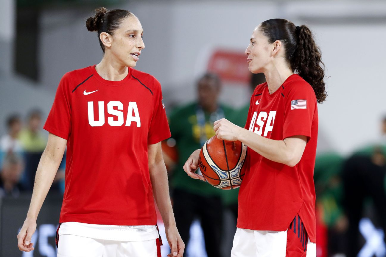 Bird, Taurasi picked for fifth U.S. Olympic team