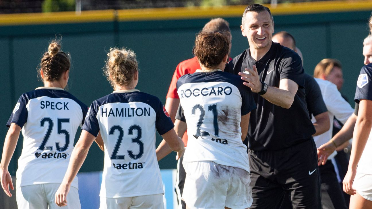 Vlatko Andonovski won back-to-back titles with the NWSL's FC Kansas City before moving on to lead the Seattle Reign.