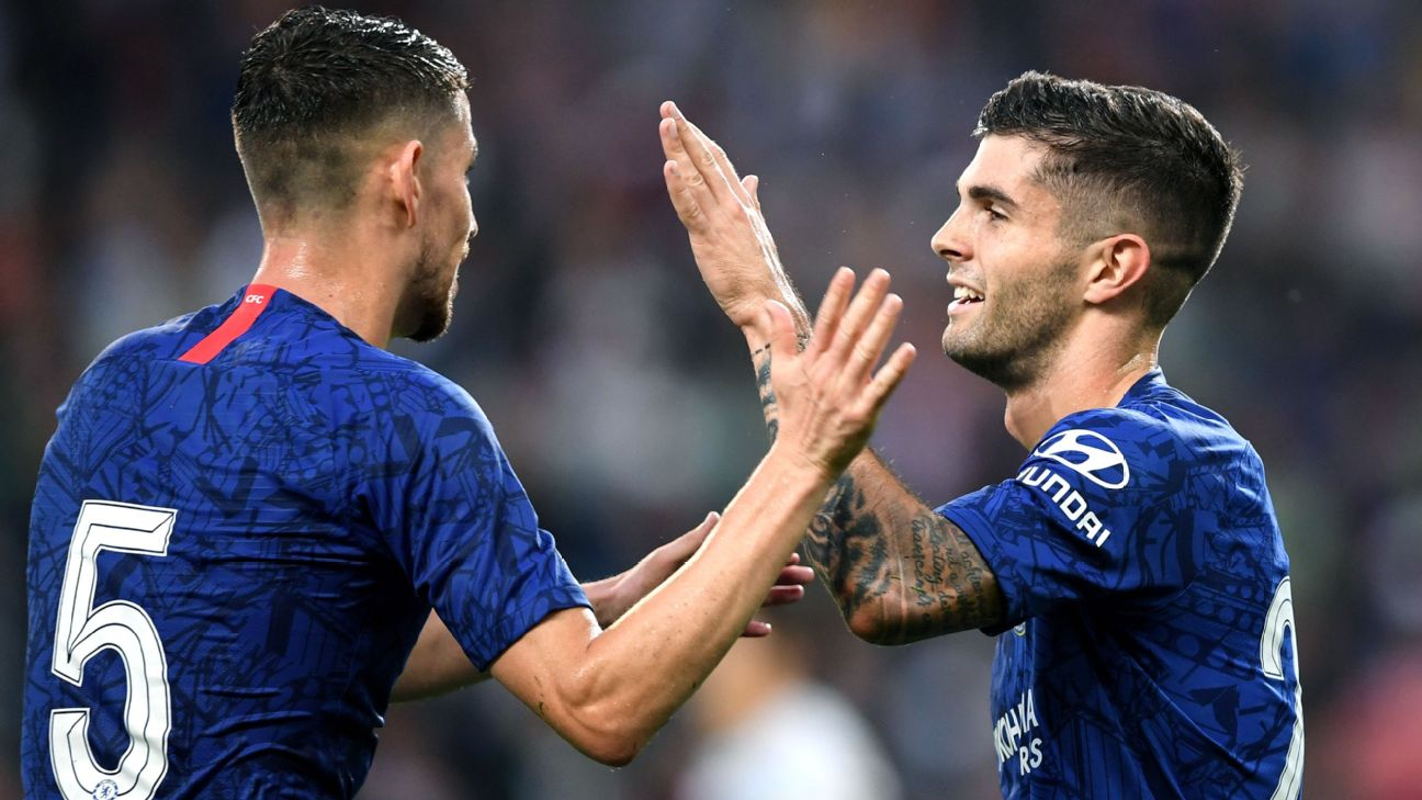 FC Salzburg vs. Chelsea - Football Match Report - July 31, 2019 - ESPN
