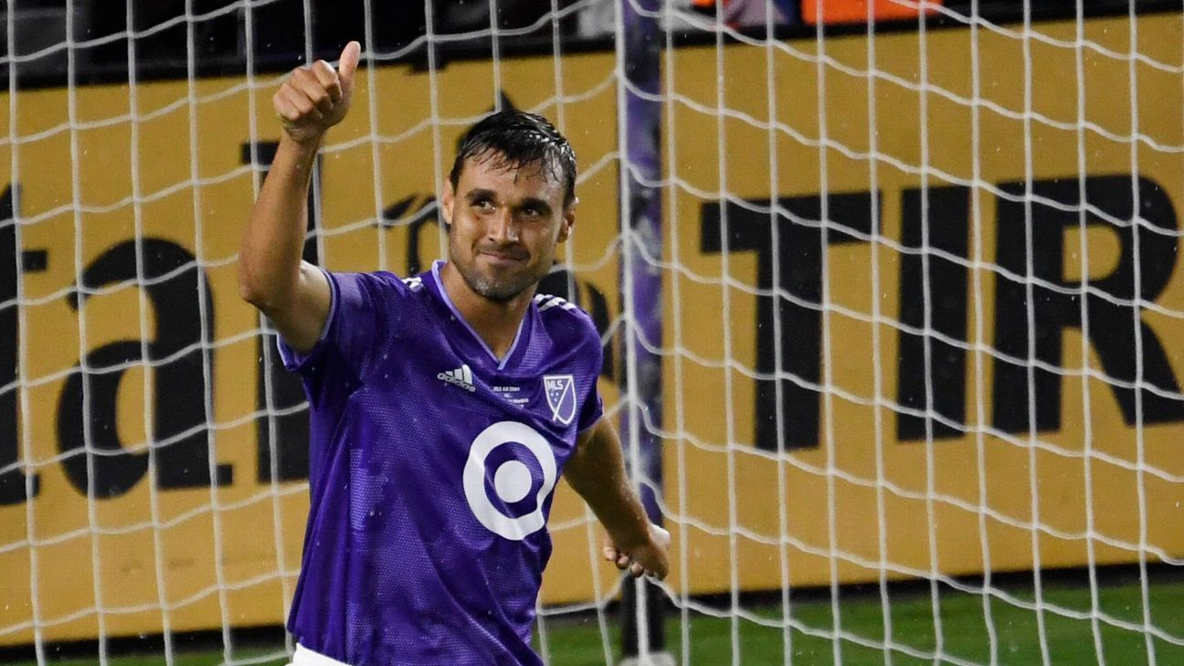 Chris Wondolowski reacts during the MLS All-Stars' defeat to Atletico Madrid.