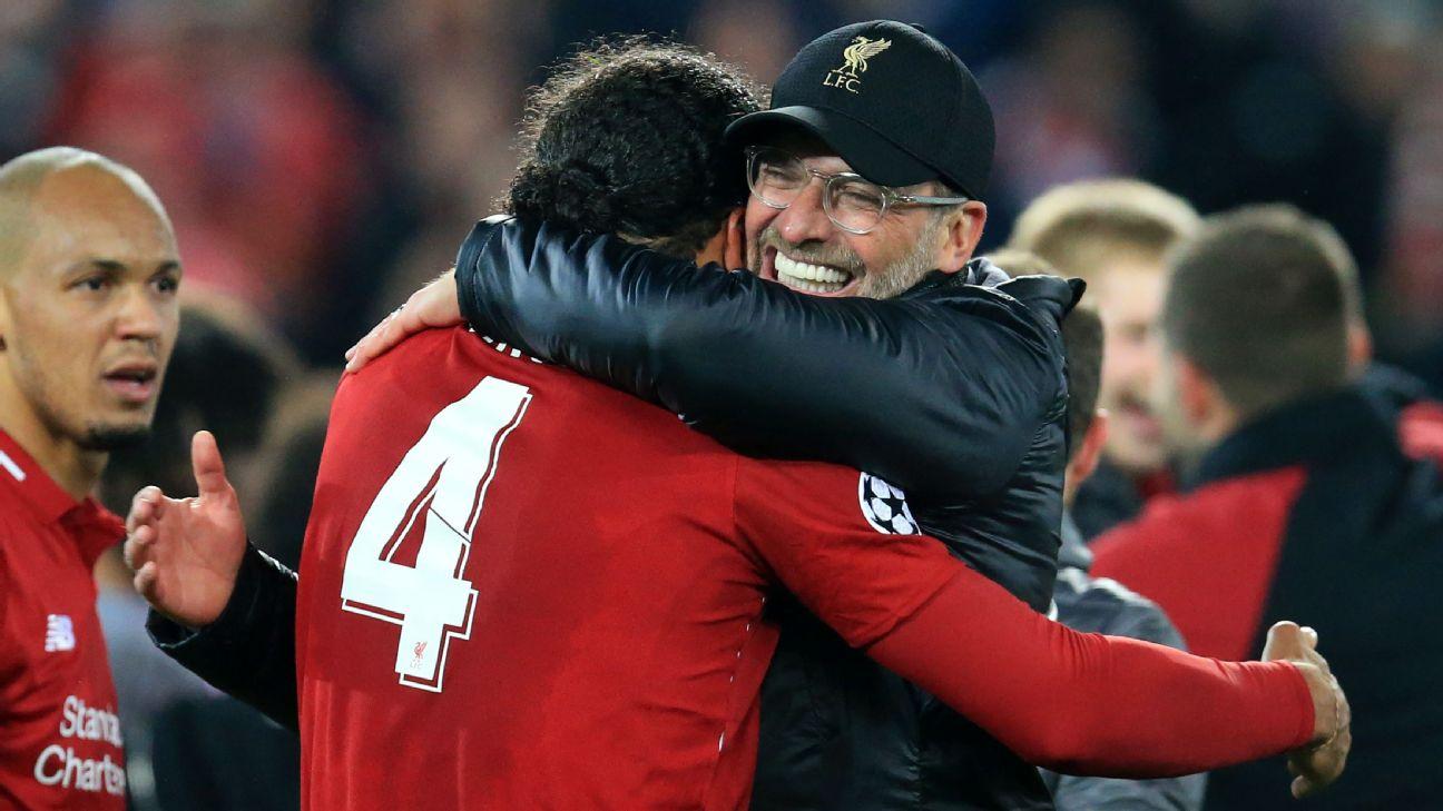 Van Dijk interview: Liverpool's Ballon d'Or hopeful on Champions League glory, challenging Man City 2